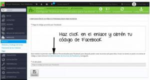 Modulo Publicos Personalizados Facebook