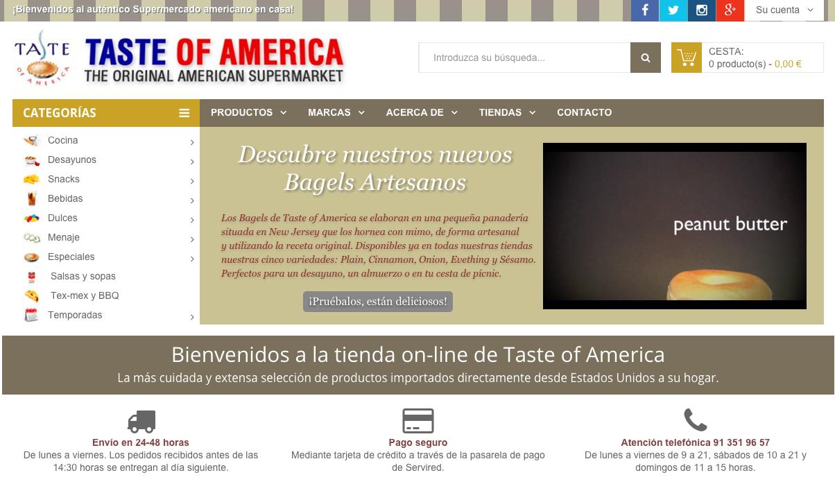 Ydral tienda mes Taste of America